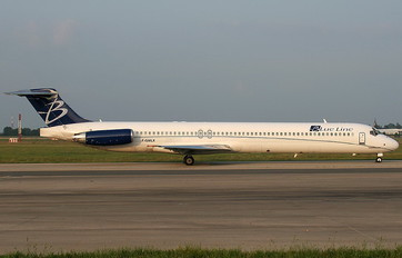 F-GMLK - Blue Line McDonnell Douglas MD-83