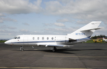 N777FC - Private Dassault Falcon 200