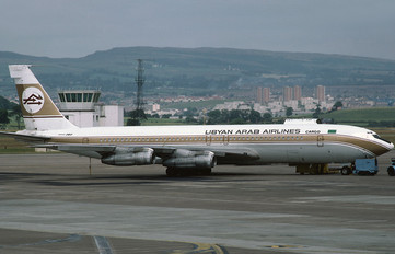 TF-VLJ - Libyan Arab Airlines Cargo Boeing 707