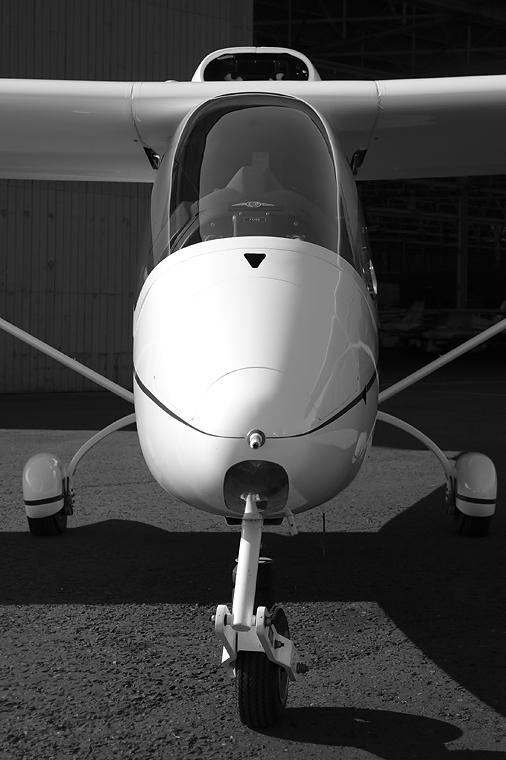 Private G-FINZ aircraft at Perth - Scone