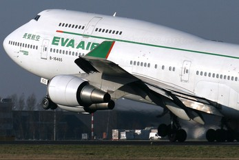 B-16465 - Eva Air Boeing 747-400