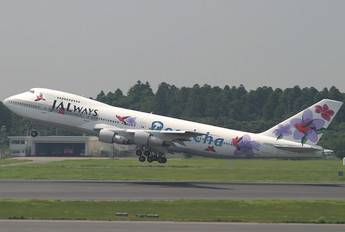 JA8150 - JALways Boeing 747-200