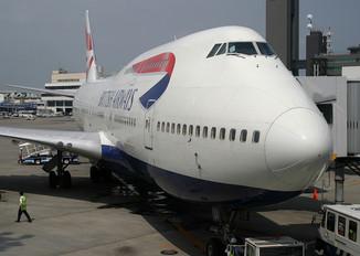 G-BNLI - British Airways Boeing 747-400