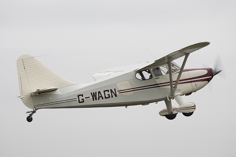 Private G-WAGN aircraft at Fife - Glenrothes