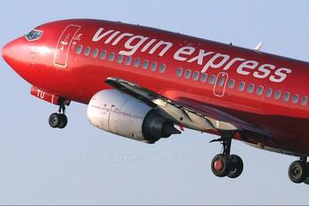 OO-LTU - Virgin Express Boeing 737-300