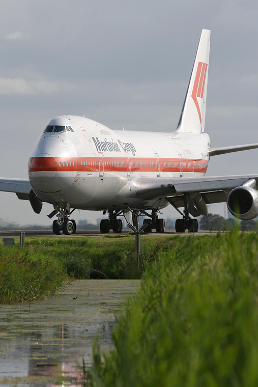 Martinair Cargo PH-MCF aircraft at Amsterdam - Schiphol