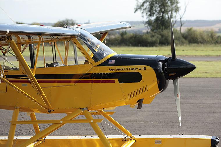 Caledonian Seaplanes G-OCLC aircraft at Fife - Glenrothes