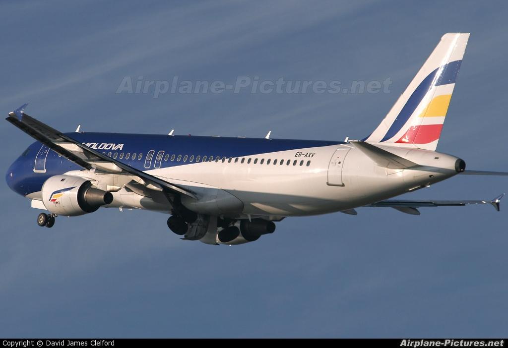 Air Moldova ER-AXV aircraft at Amsterdam - Schiphol