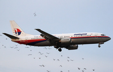 9M-MMA - Malaysia Airlines Boeing 737-400