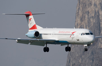 OE-LVK - Austrian Airlines/Arrows/Tyrolean Fokker 100