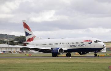 G-DOCV - British Airways Boeing 737-400