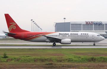 B-5075 - Shenzhen Airlines Boeing 737-800