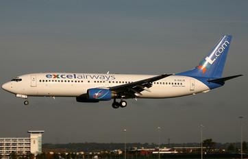 G-OXLB - XL Airways (Excel Airways) Boeing 737-800