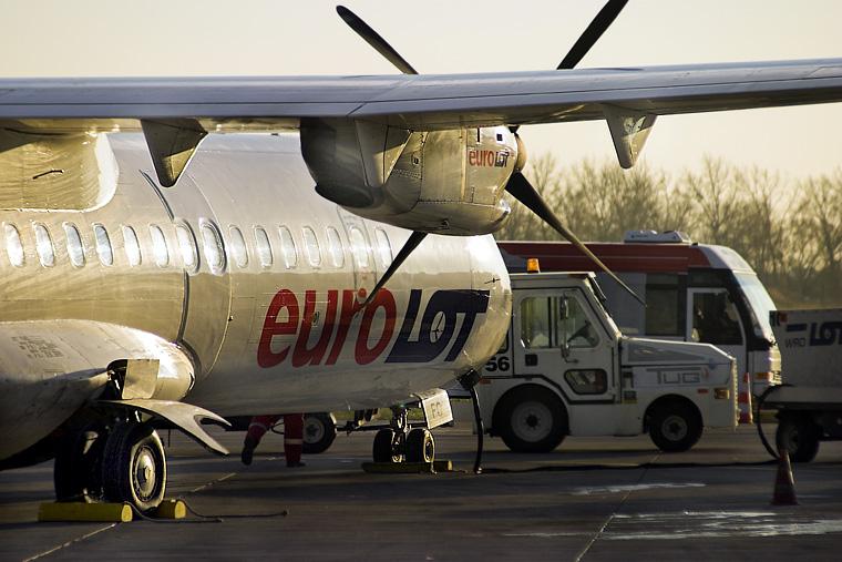 euroLOT SP-LFC aircraft at Wrocław - Copernicus