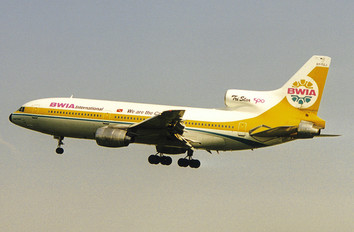 9Y-TGJ - British West Indian Airlines Lockheed L-1011-500 TriStar