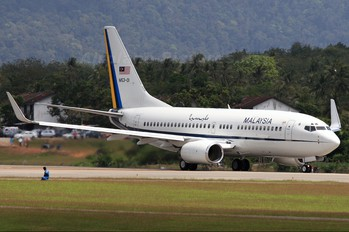 M53-01 - Malaysia - Air Force Boeing 737-700 BBJ
