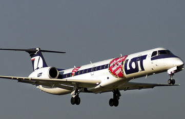 SP-LGO - LOT - Polish Airlines Embraer ERJ-145