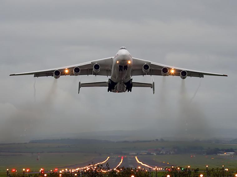 Antonov Airlines /  Design Bureau UR-82060 aircraft at Prestwick