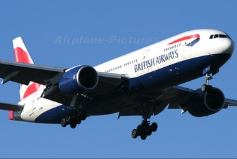 G-YMMM - British Airways Boeing 777-200