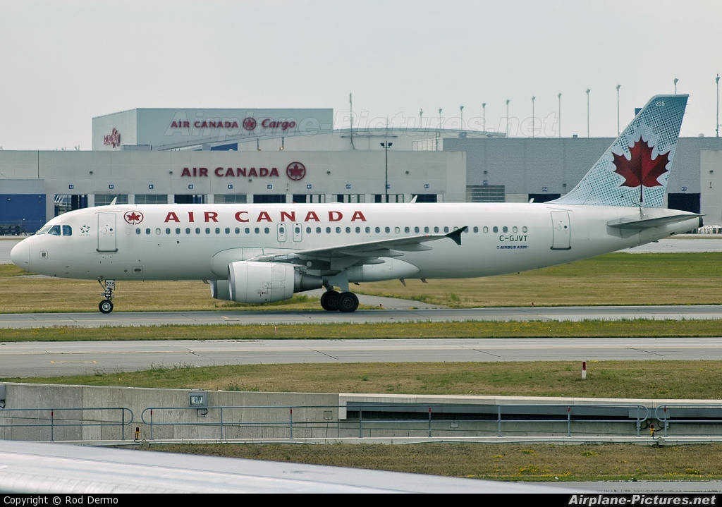 Air Canada C-GJVT aircraft at Toronto - Pearson Intl, ON