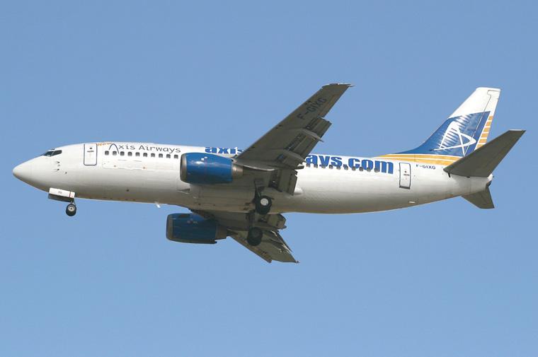 Axis Airways F-GIXG aircraft at Tel Aviv - Ben Gurion