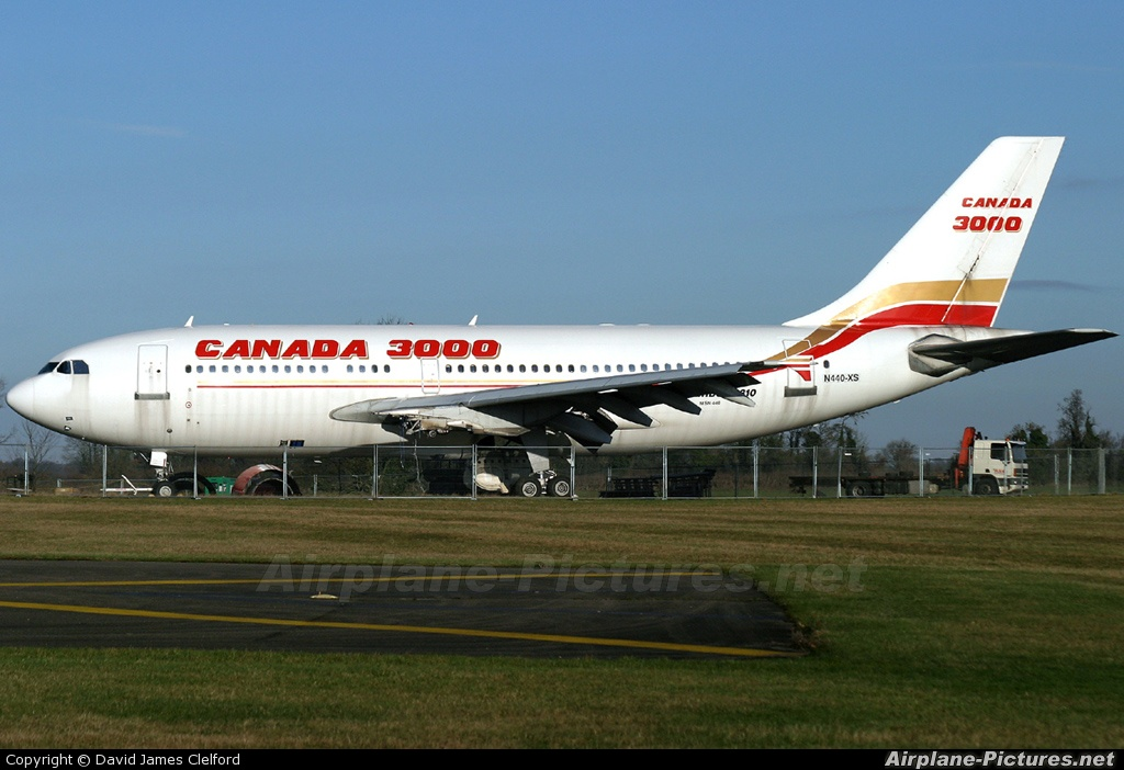 Canada 3000 N440XS aircraft at Kemble
