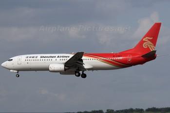 B-5187 - Shenzhen Airlines Boeing 737-800