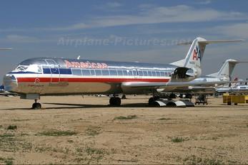 N1460A - American Airlines Fokker 100