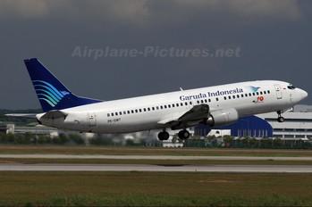 PK-GWT - Garuda Indonesia Boeing 737-400