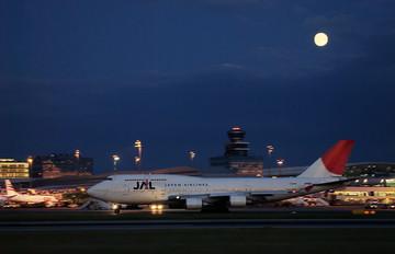 JA8901 - JAL - Japan Airlines Boeing 747-400