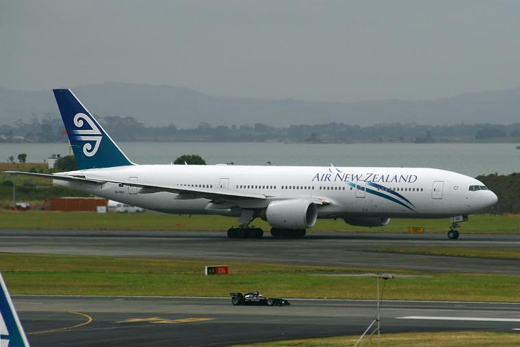 Air New Zealand ZK-OKD aircraft at Auckland Intl