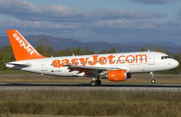 G-EZEJ - easyJet Airbus A319
