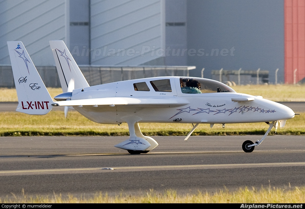 Private LX-INT aircraft at Luxembourg - Findel