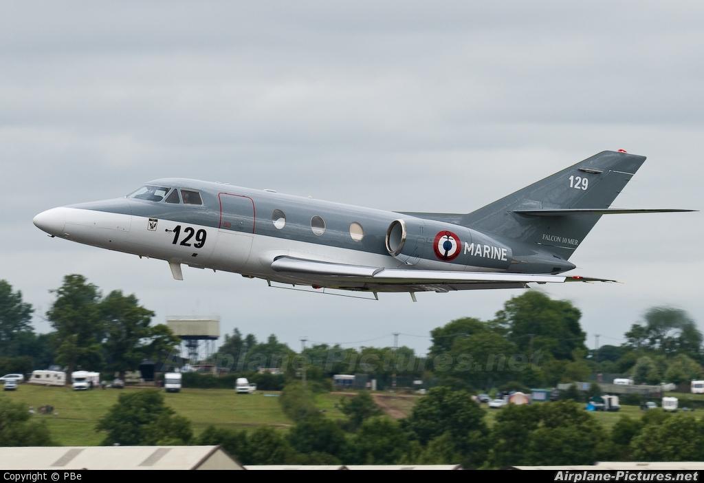 France - Navy 129 aircraft at Fairford