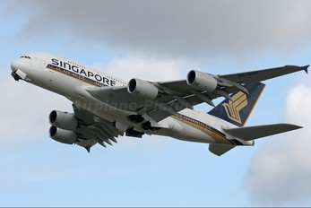 9V-SKC - Singapore Airlines Airbus A380
