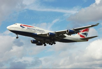 G-CIVA - British Airways Boeing 747-400