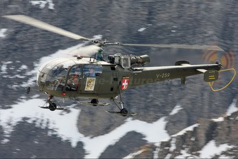 V-259 - Switzerland - Air Force Sud Aviation SA-316 Alouette III