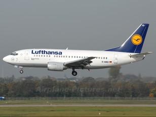 D-ABIO - Lufthansa Boeing 737-500
