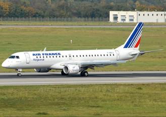 F-HBLC - Air France - Regional Embraer ERJ-190 (190-100)