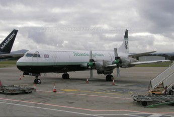 G-LOFD - Atlantic Airlines Lockheed L-188 Electra