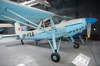 SP-FXA - Polish Medical Air Rescue - Lotnicze Pogotowie Ratunkowe Aero L-60 Brigadýr