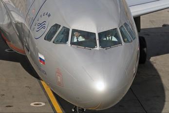 VP-BUK - Aeroflot Airbus A319