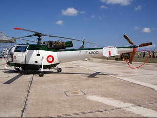 AS9212 - Malta - Armed Forces Sud Aviation SA-316 Alouette III