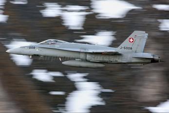 J-5008 - Switzerland - Air Force McDonnell Douglas F/A-18C Hornet
