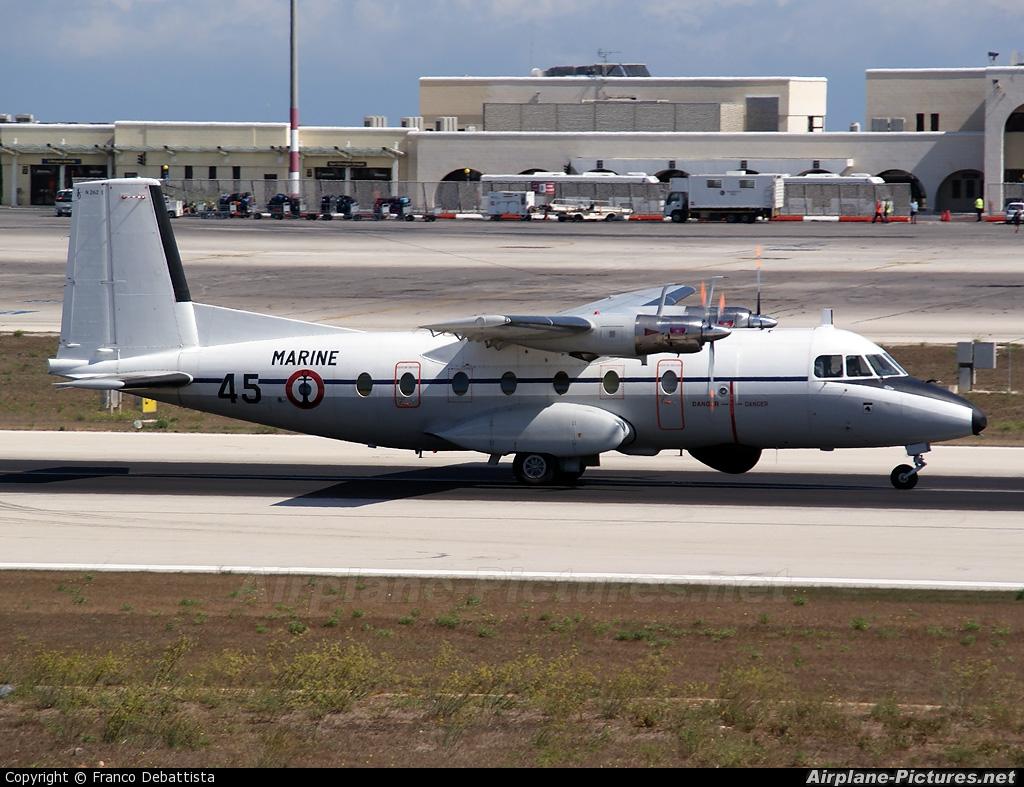 France - Navy 45 aircraft at Malta Intl