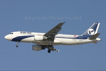 TS-INA - Iran Air Airbus A320