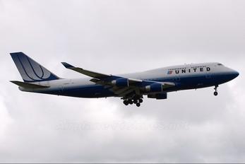 N196UA - United Airlines Boeing 747-400