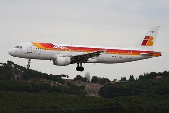 EC-FQY - Iberia Airbus A320