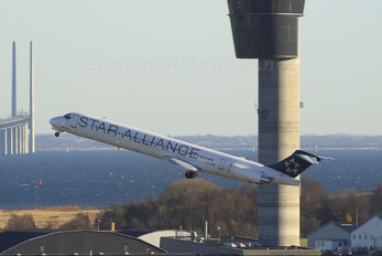 OY-KHP - SAS - Scandinavian Airlines McDonnell Douglas MD-81