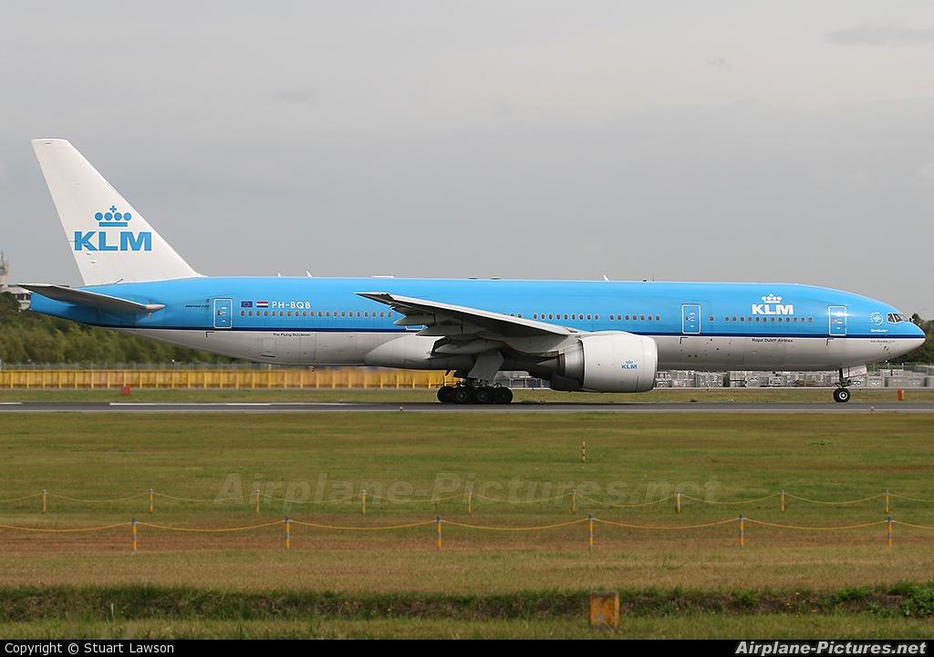 KLM PH-BQB aircraft at Tokyo - Narita Intl
